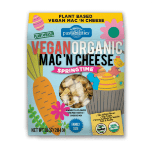 Organic Vegan Springtime Mac n Cheese