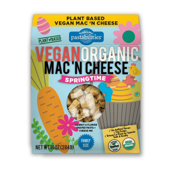 Organic Vegan Springtime Mac n Cheese