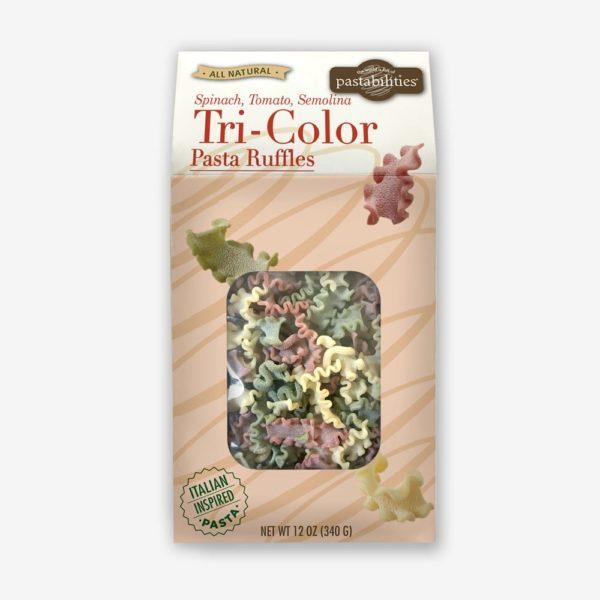 Tri-Color Pasta Ruffles