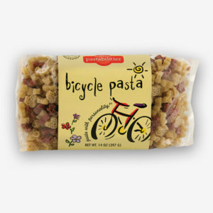 Bicycle Pasta is perfect for the competitive biker, or your every day park peddler! Delicious Antipasto Pasta recipe is included. Shop Now! | www,pastashoppe.com