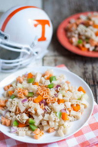 Collegiate Pasta Salad | WorldofPastabilities.com