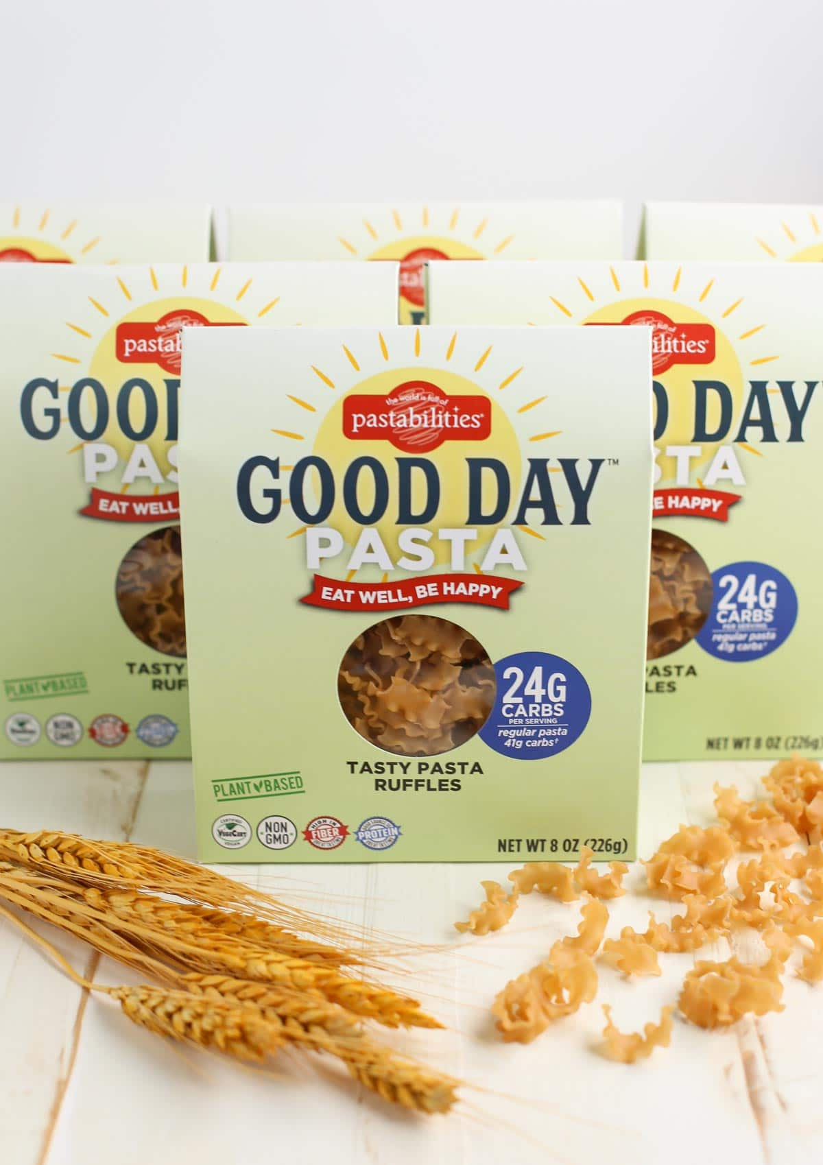 Good Day Pasta | Low Carb Keto Friendly Pasta | 42% less carbs than regular pasta | Delicious and Nutritious