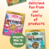 Side Panel of Mighty Pasta highlighting other products and websites