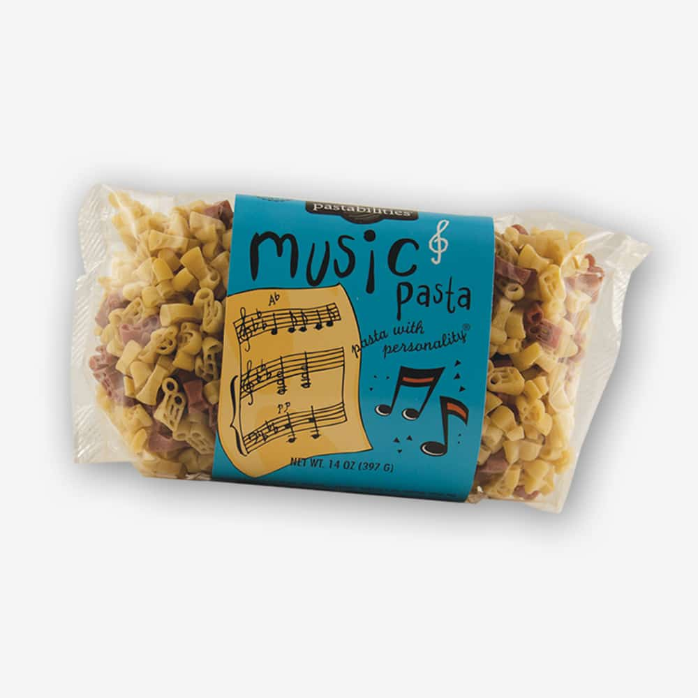 "Bring ""a symphony of flavors"" to your next pasta meal with our Music Pasta! Oriental Pasta recipe included on the back label. Makes a great gift! Shop NOW!"