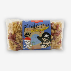 "ARGH...this Pirate Pasta is GOOD! Fun for pirates of all ages! A ""Light"" Broccoli Mac´n Cheese recipe is on the label - a kid favorite...Shop NOW!!!"