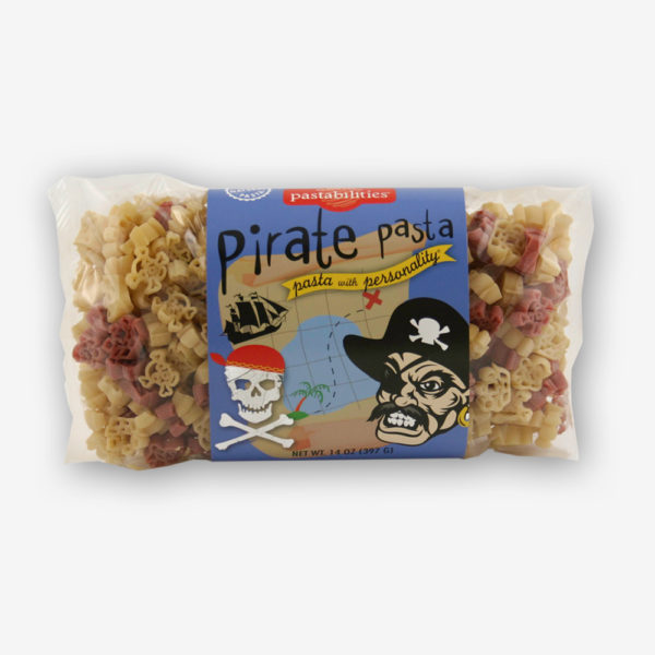 """ARGH...this Pirate Pasta is GOOD! Fun for pirates of all ages! A """"Light"""" Broccoli Mac´n Cheese recipe is on the label - a kid favorite...Shop NOW!!!"""