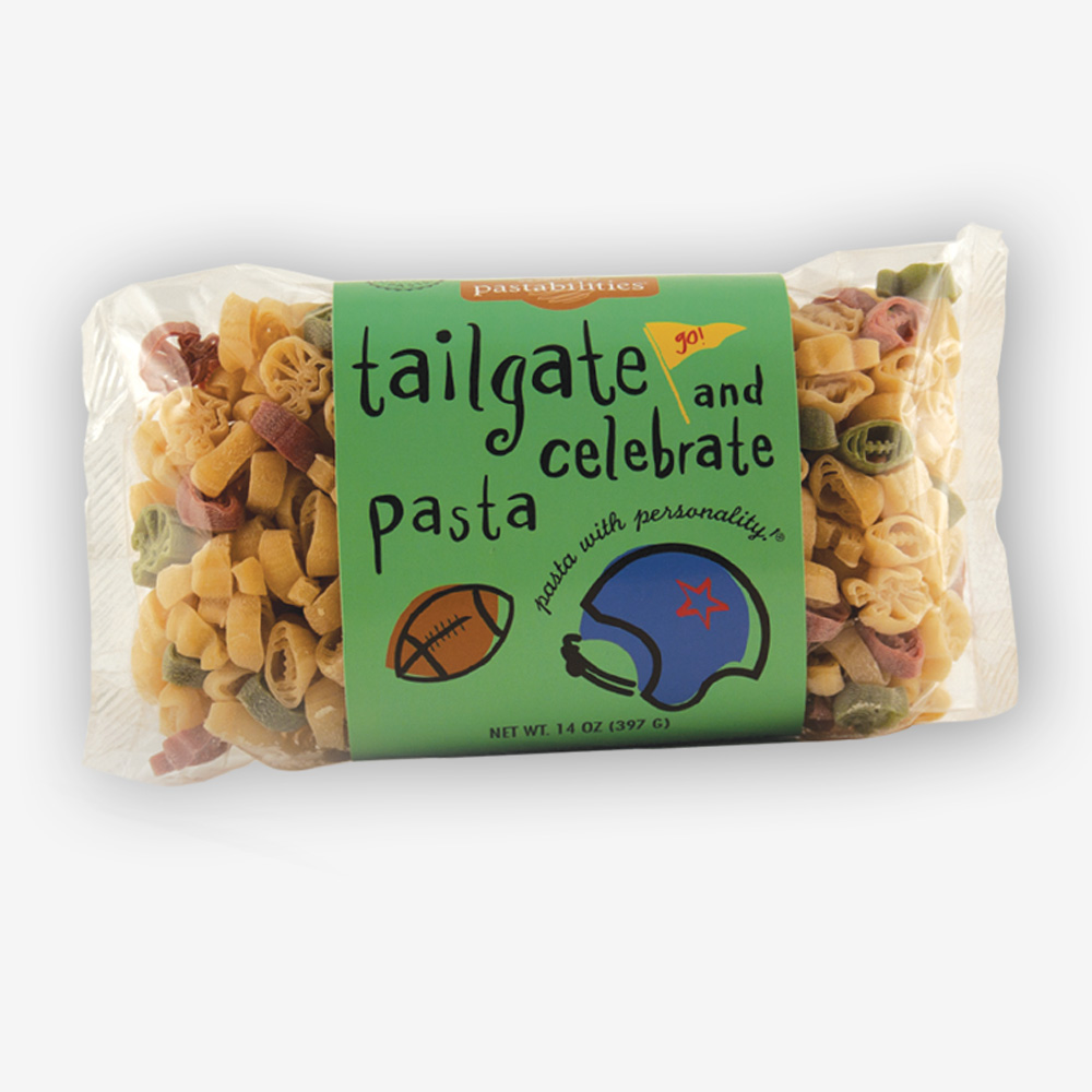 "Are you ready for some Football ""Pasta""?! Tailgate & Celebrate® Pasta! Every tailgate or game celebration deserves some team spirit! Shop NOW!!!"