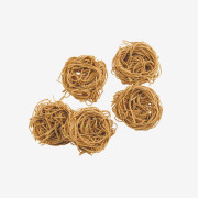 Light, fluffy, AND healthy! Even your kids will love our 100% whole wheat angel hair pasta nests- a great option with any sauce. SHOP NOW! | thepastashoppe.com