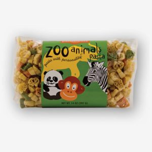 Zoo Animals Pasta is fun for kids of all ages! Who doesn't love visiting the zoo? These cute animal shapes make any meal better. Shop NOW!!!