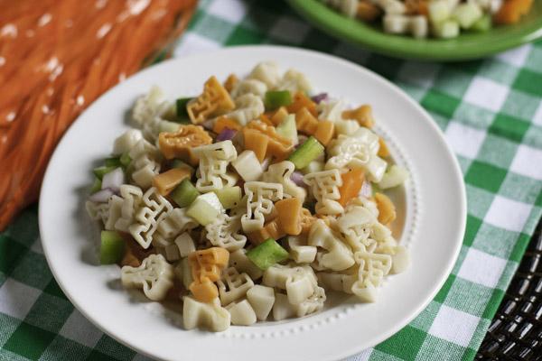 Gator Pasta Salad