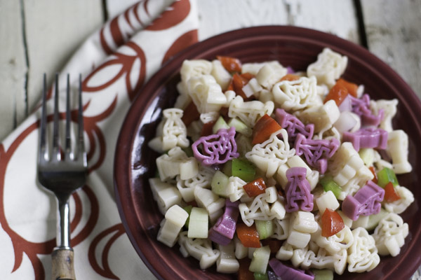 Roll Tide Pasta Salad