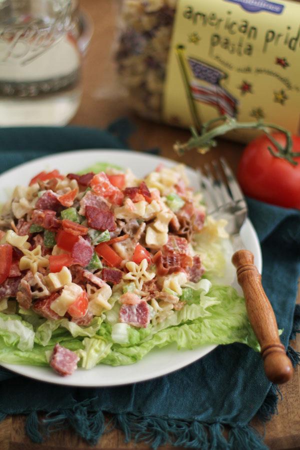 American Pride BLT Pasta Salad