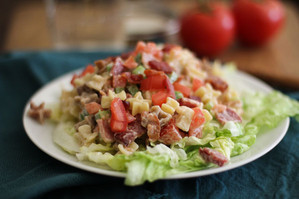 American BLT Pasta Salad