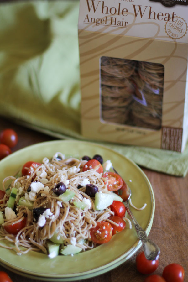 Angel Hair Greek Pasta | WorldofPastabilities.com