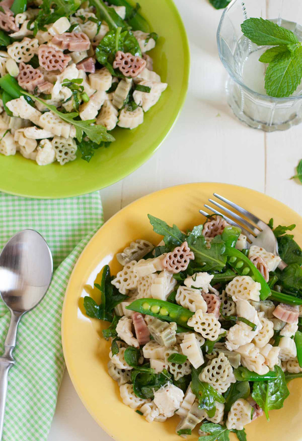 for summer and summer means bring on the pasta salads
