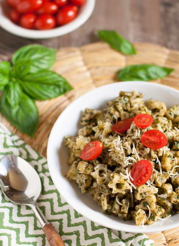 Everyday Basil Parsley Pesto | WorldofPastabilities.com