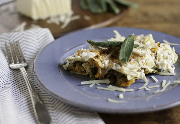 Butternut Squash and Kale Cannelloni | WorldofPastabilities.com