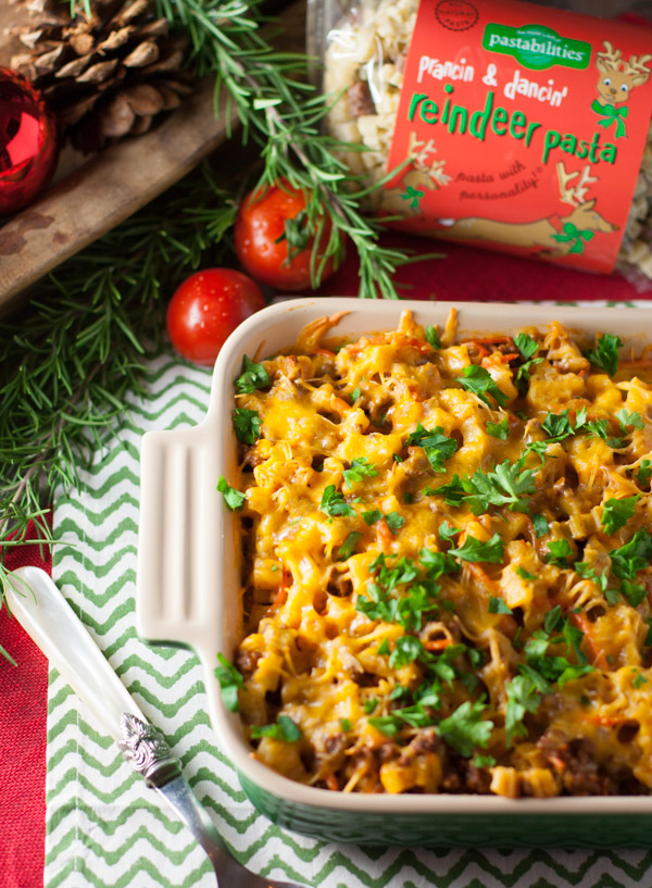 Cheesy Beef and Noodle Casserole | WorldofPastabilities.com