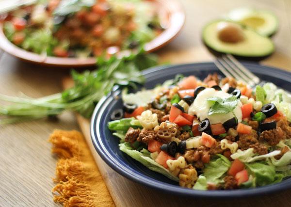 Taco Pasta Salad-2 | WorldofPastabilities.com