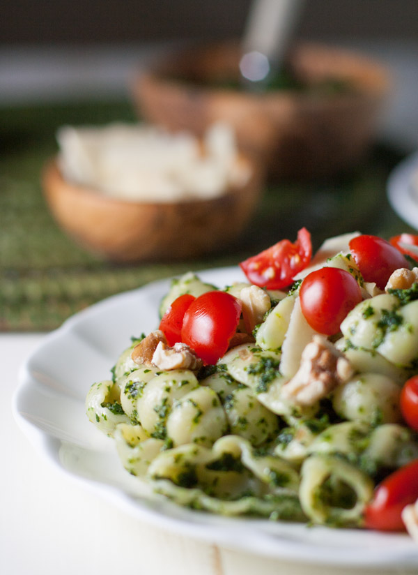 Kale and Walnut Pesto | WorldofPastabilities.com