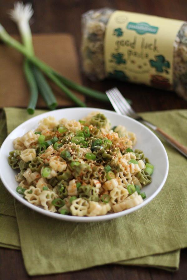 Sweet and Spicy Sesame Noodles   WorldofPastabilities.com