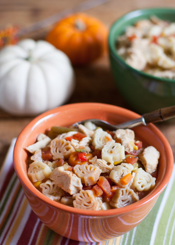 Thanksgiving Turkey Leftover Soup | WorldofPastabilities.com